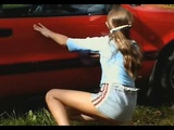 Sandra Orlow - Sandra Model - car wash