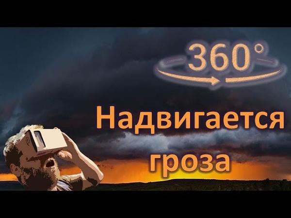 Панорамное Видео 360 VR 4K для очков виртуальной реальности Надвигается гроза samsung gear 360