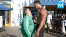 Fat Man VS Bodybuilders Epic Prank Muscle Madness