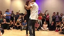 "Brazilian Zouk lead/follow Kadu and Larissa - Song ""Fly Down"" by Stephen"