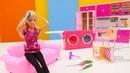 Giochi per bambini. Barbie pulisce casa. Episodi completi