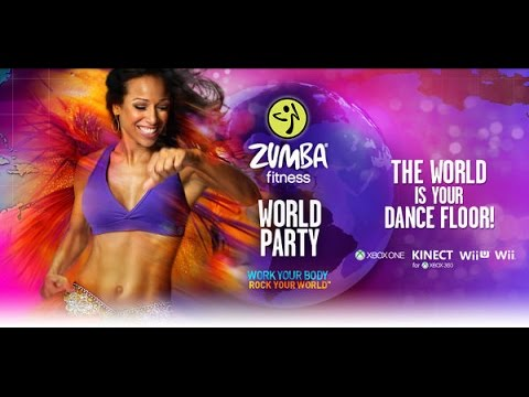 Zumba Fitness World Party SONGLIST MENU