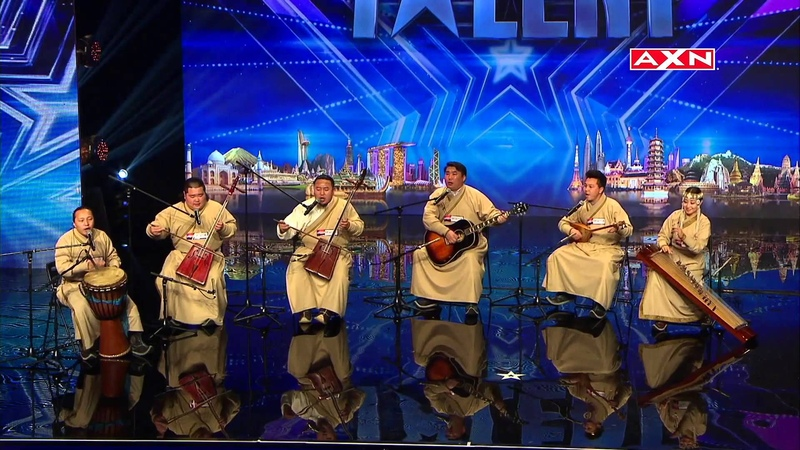 Khusugtun Takes Listeners To Mongolia Asia's Got Talent 2015 Ep 2