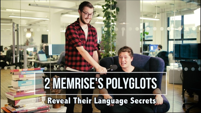 2 of Memrise's Polyglots Reveal Their Language Secrets
