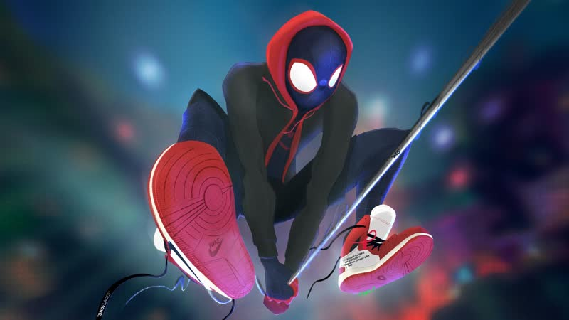 Человек-паук Через вселенные | Post Malone, Swae Lee - Sunflower