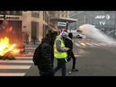 Anti-government protests engulfed France