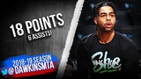 D'Angelo Russell Full Highlights 2019.03.09 Hawks vs Nets - 18 Pts, 6 Asts! FreeDawkins