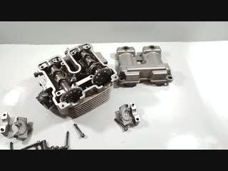Моторазборка - ГБЦ Suzuki Djebel 250 xc
