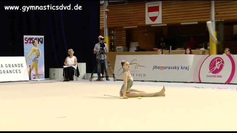 Дарья Трубникова - Булавы GP Brno 2019 EF 20,300