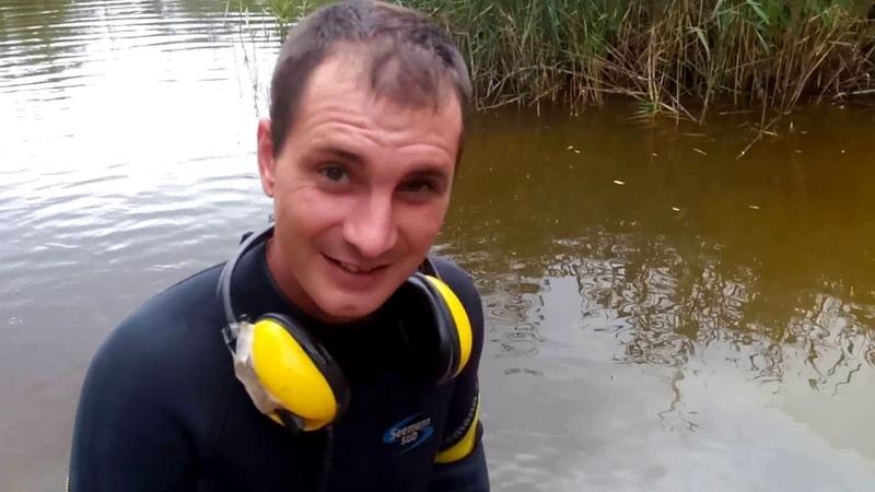 Подводный поиск на забытом Богом пляже!