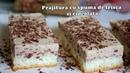 Румынский торт со сливочно- шоколадной пеной / Prajitura cu spuma de frisca si ciocolata Farfuria vesela