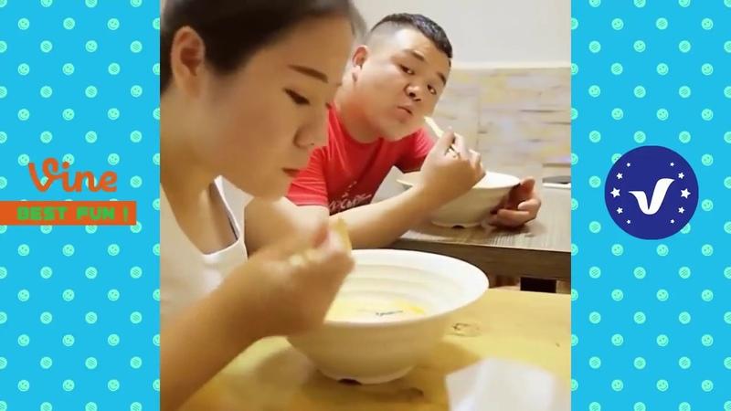 Vídeos engraçados chineses nova surpresa 2018. Não perca tente não rir, ha ha ha 13