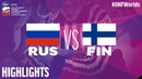 Russia vs Finland Game Highlights