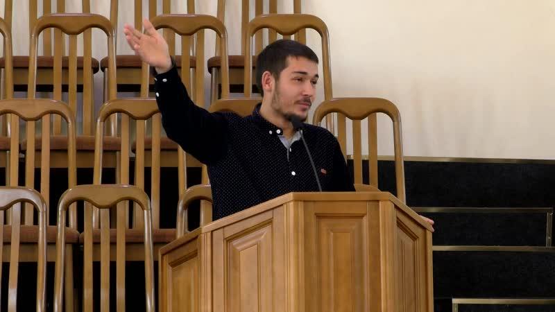 Проповедь (Еф.5.15 - 16) - гость братАндрей (церковь ЕХБ - (Вифания))