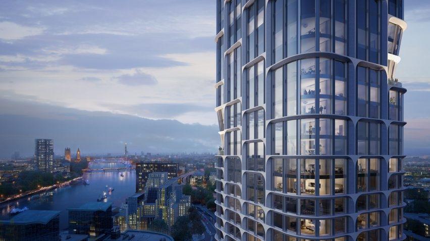 Две башни от Zaha Hadid Architects для Лондона
