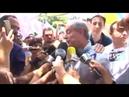 Ciro Gomes agride repórter durante entrevista