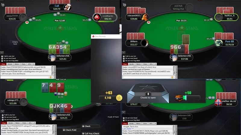 Сессия 5карточной Омахи на ПокерСтарс! 5card Omaha on PokerStars