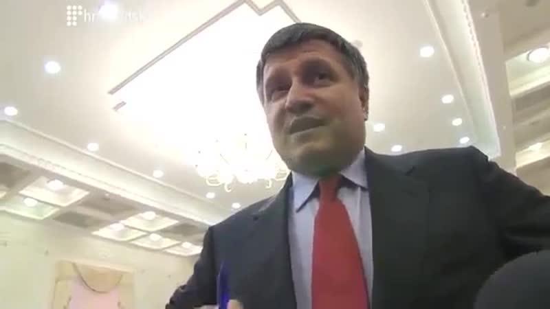 Аваков принимает вызов правосеков. 25 марта 2014-го.
