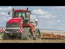 CASE IH QUADTRAC 620 Traktor VÄDERSTAD TopDown   Landmaschinen bei der Bodenbearbeitung