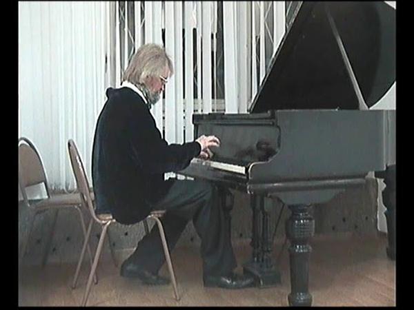 Музыкальная Атлантида ИМПРОВИЗАЦИЯ Андрей Катичев за роялем