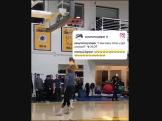 @KDTrey5 had to share video proof he crossed up Boogie .mp4