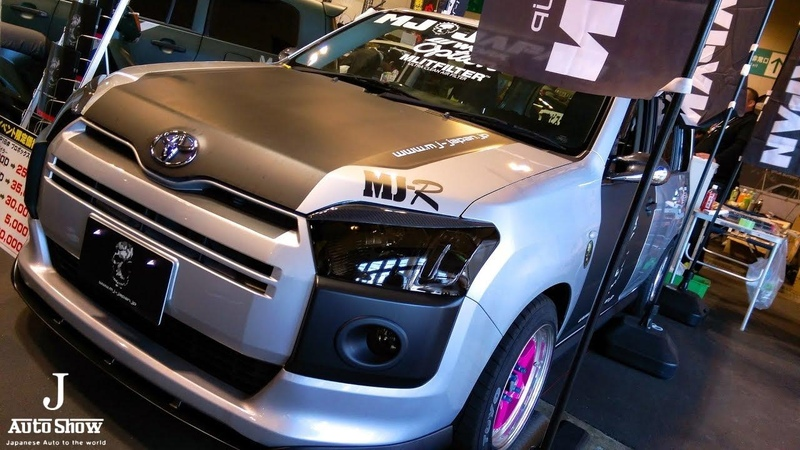 HD MJ JAPAN TOYOTA PROBOX NCP16 bodykit トヨタ・プロボックスカスタム・エアロ 名古屋オートトレンド2017