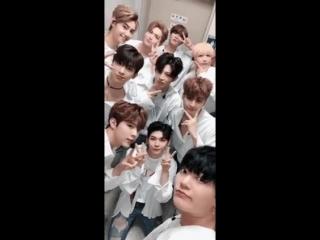 180915 UP10TION @ Обновление корейского твиттера группы