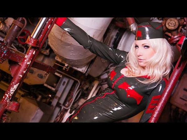 Latex submarine captain | Susan Wayland