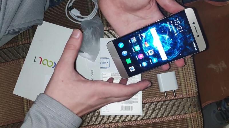 Распаковка смартфона LeEco cool1