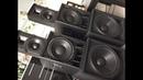 TSA 4-1300 Basy B C i Górki RCF Granat Audio