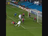 Первый гол Рио Фердинанда в Лиге чемпионов