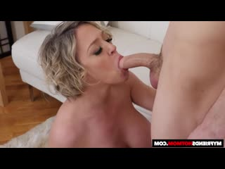 [my friends hot mom] naughty america - dee williams gets oiled up before banging видео 18+