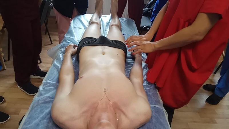 Остеопатия пальпация