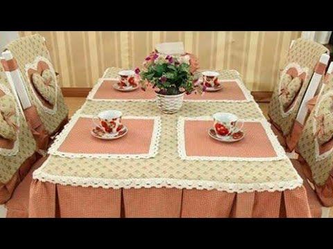 مفارش طاولات طعام وتلبيسات كراسي نفس الشك16