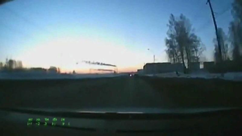 Обзор метеорит в Челябинске HD720/ Russian Meteor in Chelyabinsk