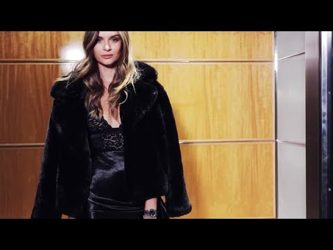 Josephine Skriver's Fitting for the 2018 Victoria's Secret Fashion Show