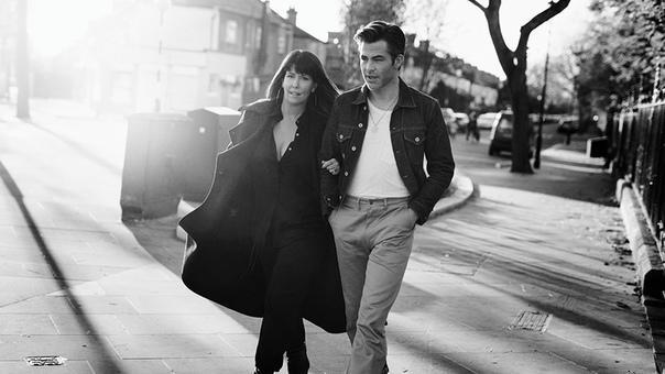 Chris Pine and director Patty Jenins Variety, 2019