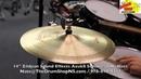 Zildjian Sound Effects Azuka Sombrero Hi Hats 14 The Drum Shop North Shore