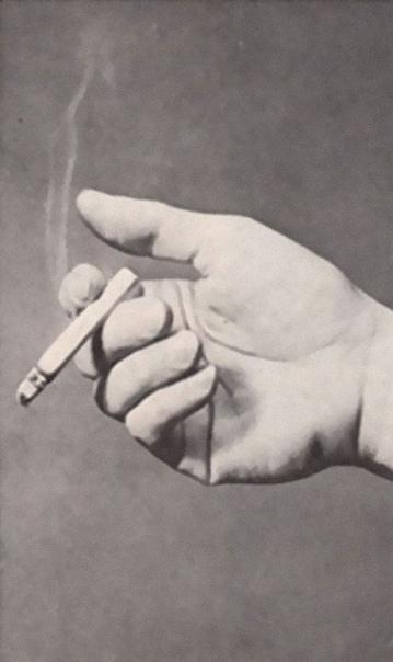 Как определить характер человека по манере курить. Если верить бульварной психологии 50-х
