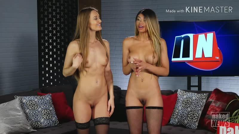 V Naked News 2018.12.17 Tia Larose And Alana Blaire Closing Remarks