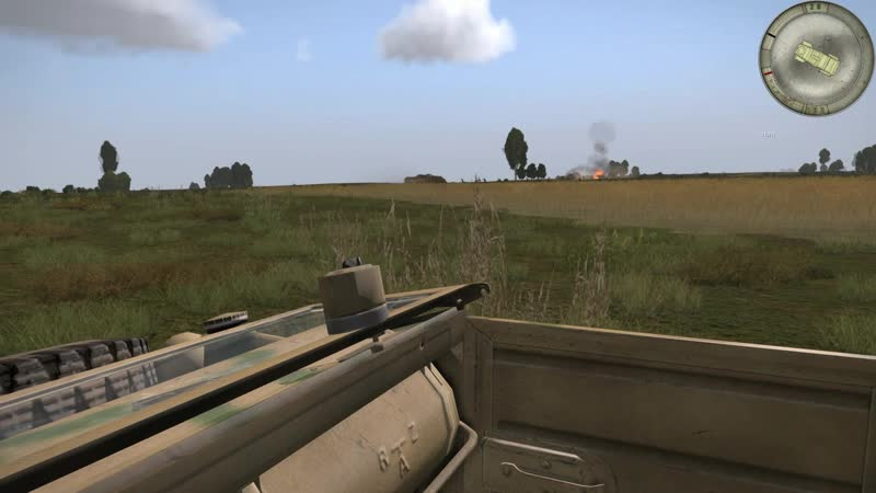 Arma 3 RED BEAR IRON FRONT ОСА