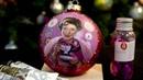 Долорес Амбридж портрет маслом миниатюрная живопись елочный шарик Фантастические твари