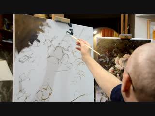 Пишем Этюд Ч.1-я Школа Живописи Михаила Сатарова