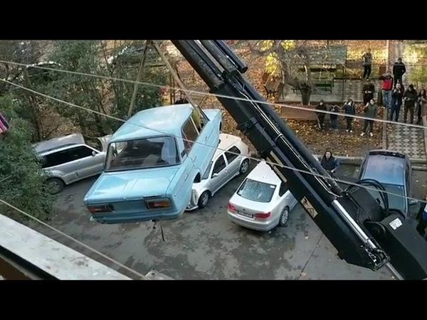 В Тбилиси сняли ЖИГУЛИ простоявшие на балконе 27 лет | Новости | Instagram Life