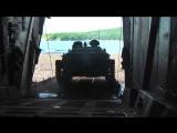 Погрузка техники морской пехоты ТОФ на большие десантные корабли в рамках маневров