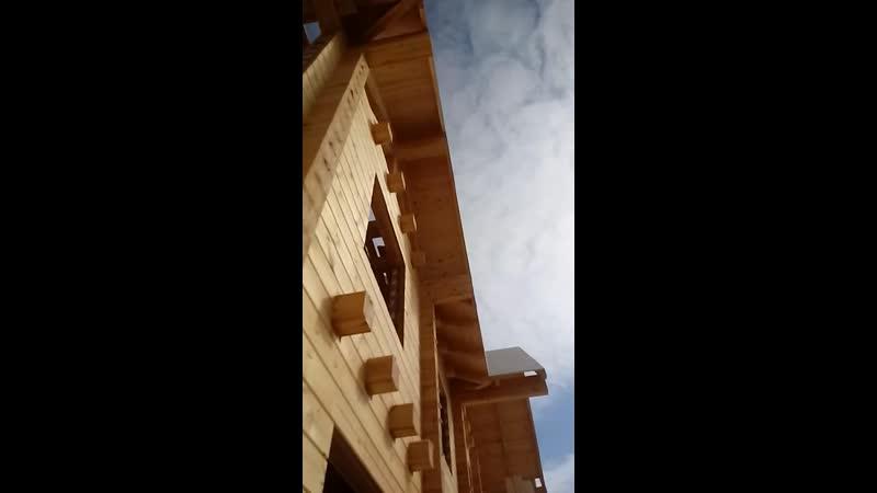 алтайлес поселок Карниз крыши