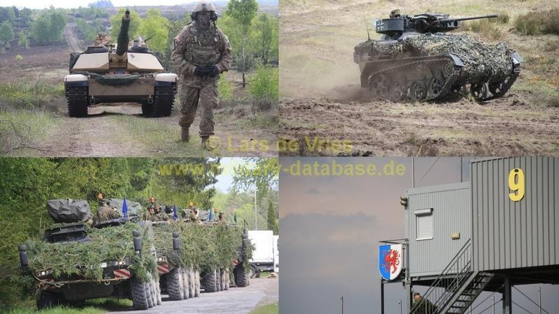 2017 Haffschild Teil 3 3 Bundeswehr Manöver der PzGrenBrig 41 Vorpommern