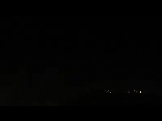 Video of explosion in Latakia showing the intensity of tonights bombardment. -