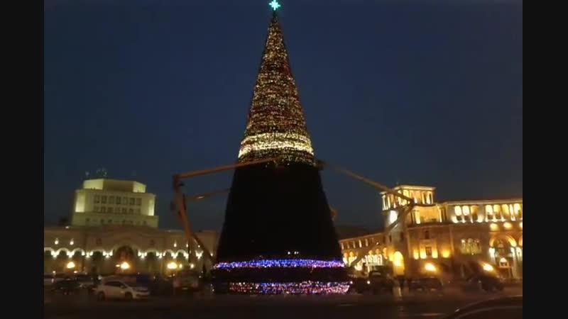 Новая ёлка Ереван