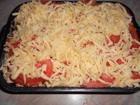 Готовим пикантные макароны в духовке!